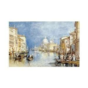 Joseph Mallord William Turner   The Grand Canal, Venice Giclee