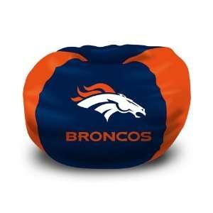 Denver Broncos NFL Team Bean Bag (102 Round) Sports