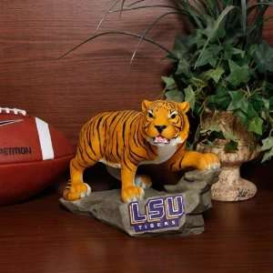 NCAA LSU Tigers Large Mike Mascot Figurine: Home & Kitchen