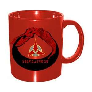 Star Trek Klingon Disappearing Mug: Kitchen & Dining