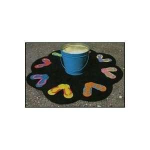Flip Flop Table Mat by Primitive Gatherings Backyard Quilts Pattern
