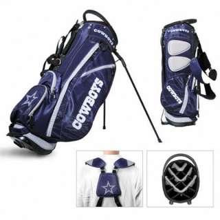 Licensed NFL Dallas Cowboy Team Golf Stand Bag + Bonus