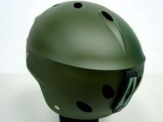 SWAT Special Force Recon Tactical Helmet Green OD