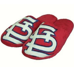 St Louis Cardinals 2010 Official MLB Big Logo Hard Sole Plush Slippers