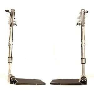 SX5 Wheelchair Accessories   Standard footrests w/composite footplate