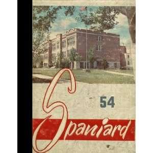 (Reprint) 1954 Yearbook Spanish Fork High School, Spanish Fork