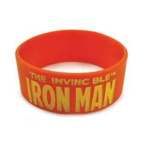 Marvel Iron Man Logo Red Rubber Wristband 47142 Toys