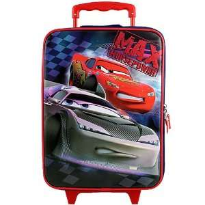Disney Pixar Cars Rolling Luggage Case [Max Horsepower]: Toys & Games