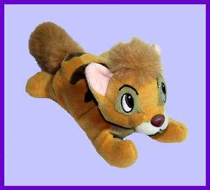 DISNEYS OLIVER & COMPANY BEAN BAG PLUSH OLIVER CAT