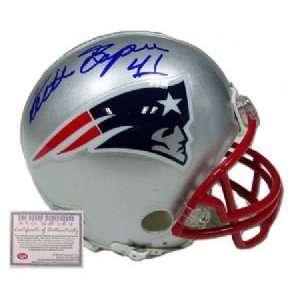 Keith Byars New England Patriots NFL Hand Signed Mini Replica Football