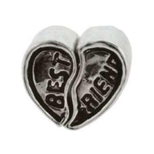 Best Friends Heart Set Oriana Bead   Pandora Bead