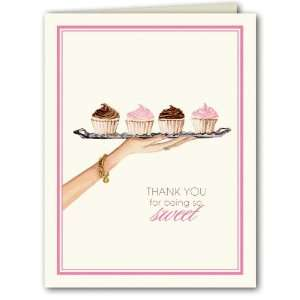 Dessert Tray Thank You Notes Toys & Games