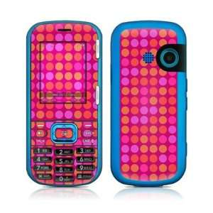 Dots Pink Design Protective Skin Decal Sticker for LG