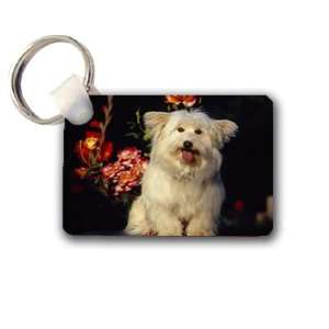 Cute puppy dog Keychain Key Chain Great Unique Gift Idea