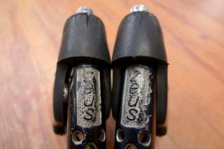 ZEUS 2001** brake set  black  w/ hooded levers and brakes   vintage