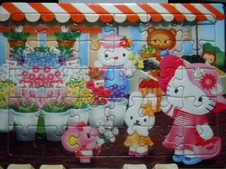 Mini 30Pcs Jigsaw Puzzle Cute Lovely ~ Hello Kitty #5