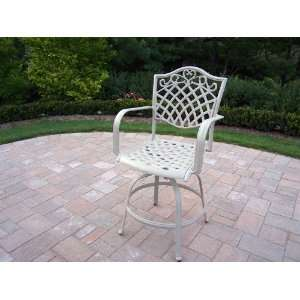 Oakland Living New Century Collection Outdoor Bar Stool Finished in