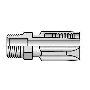 20122 2 4 Parker 1/8 Male NPT Pipe x 1/4 i.d. Hose