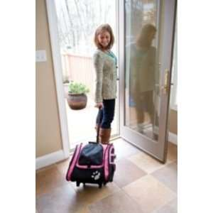 Pet Gear I Go2 Traveler Roller Backpack Dog Carrier   Pink