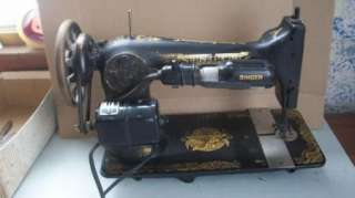 Antique 1910 Singer Sphinx Sewing Machine Model 27 (G280894) Parts or