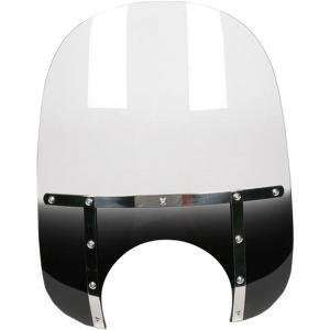 Shades 21in. Memphis Fats Windshield (7in. Cutout)   Night Shades