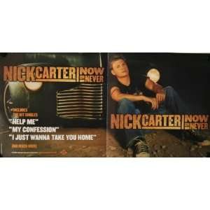 Backstreet Boys Nick Carter Now or Never Set Poster (24x12) and a
