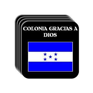 Honduras   COLONIA GRACIAS A DIOS Set of 4 Mini Mousepad