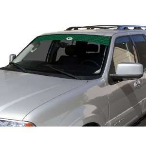 Green Bay Packers Visor Window Film