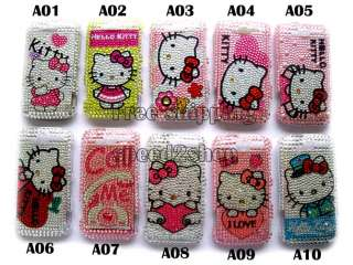 Hello kitty Rhinestone Bling Case for HTC MyTouch 4G