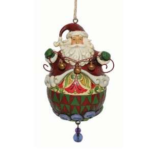 Jim Shore Heartwood Creek from Enesco Roly Poly Santa