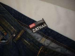 NWT DIESEL ZATHAN Made in Italy 38 Dark Blue Denim Jeans 82H Sz 38