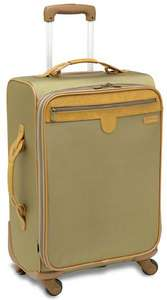Hartmann Packcloth 21 Spinner Carry On Bag 4 Wheeled Rolling Luggage