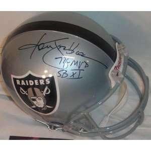 Ken Stabler Signed Oakland Raiders Riddell Full Size Pro