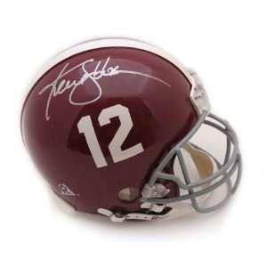 Ken Stabler Signed Helmet   ALABAMAPRO LINE Sports