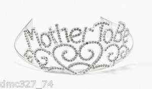 Baby Shower Party Mother MOM TO BE TIARA ~ NEW