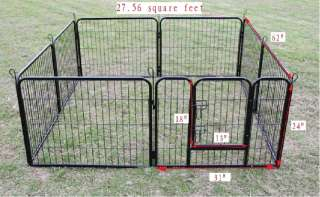 24 High Heavy Duty Pet Dog Playpen