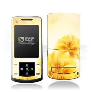 Design Skins for Samsung U900 Soul   Yellow Flowers Design