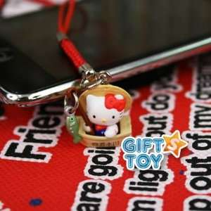 Sanrio Hello Kitty Fisherman Cell Phone Charm Everything