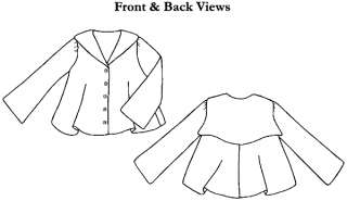Unsung Sewing Patterns: McCall 8696 - Misses' and Girls' Middy Blouse