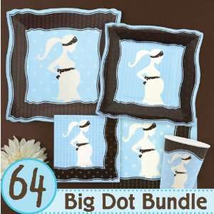 Mommy Silhouette Its A Boy Baby Shower Party Supplies