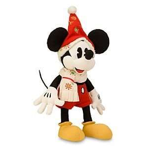 Disney Classic Holiday Mickey Mouse Plush    16 Toys & Games