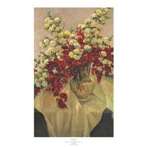 Flores Blancas   Poster by J. Ripoll (25.25x39.38): Home