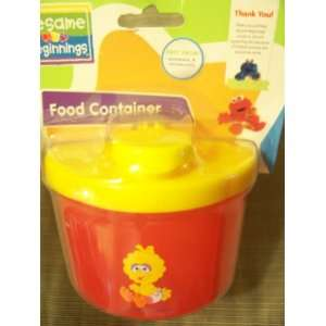 Sesame Beginnings Food Container ~ Powder Milk: Baby