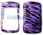 Design Purple Black Zebra Hard Phone Cover Case For Blackberry Bold