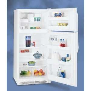 30 Top Mount Refrigerator, 2 Humidity Controls,  White Appliances