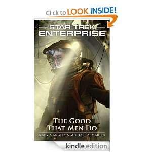 The Star Trek Enterprise The Good That Men Do Michael A. Martin