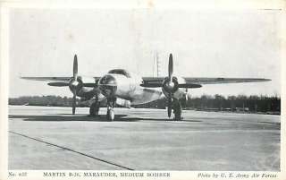 AVIATION ARMY AIR FORCE MARTIN B 26 MARAUDER R42707