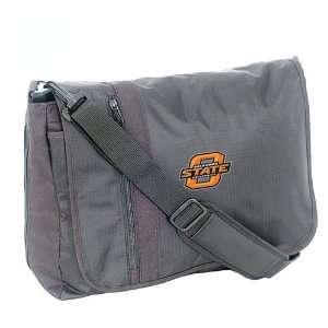 Mercury Luggage Oklahoma State Cowboys Black Messenger Bag