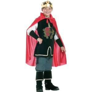 Childs Medieval King Costume (Size:Large 10 12): Toys