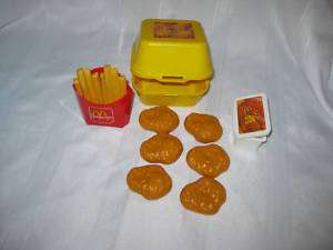 Fisher Price Fun with Food McDonalds Chicken Nuggets